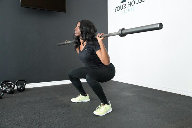 Vježbe u fitnesu za noge